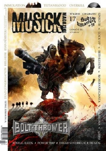 Okładka książki MUSICK MAGAZINE nr 17 (4/2016)