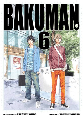 Okładka książki Bakuman #6