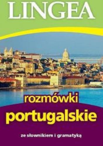 Okładka książki Rozmówki portugalskie ze słownikiem i gramatyką