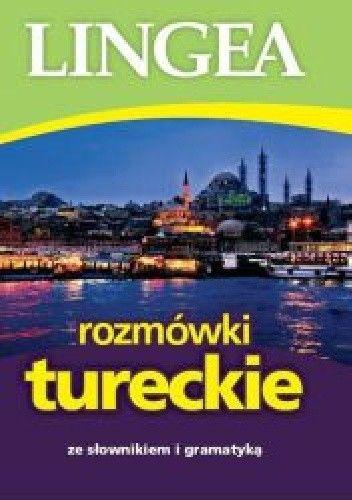 Okładka książki Rozmówki tureckie ze słownikiem i gramatyką