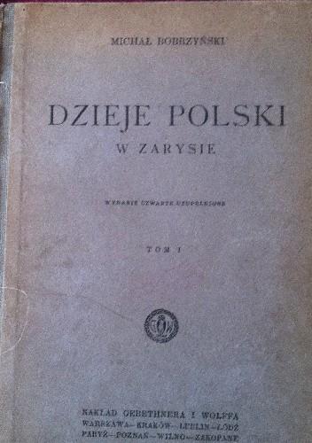 Okładka książki Dzieje Polski w zarysie tom I