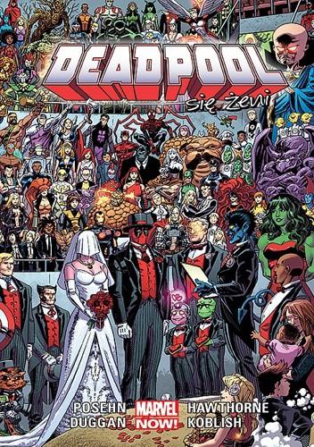 Okładka książki Deadpool: Deadpool się żeni