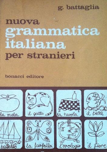 Okładka książki Nuova grammatica italiana per stranieri