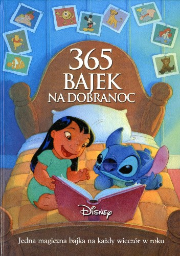 Okładka książki 365 Bajek na dobranoc