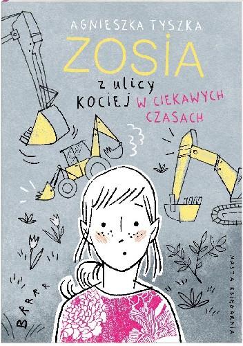 Okładka książki Zosia z ulicy Kociej. W ciekawych czasach