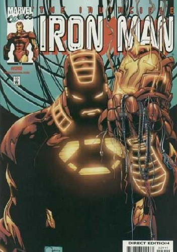 Okładka książki Iron Man #29