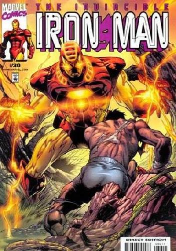 Okładka książki Iron Man #30