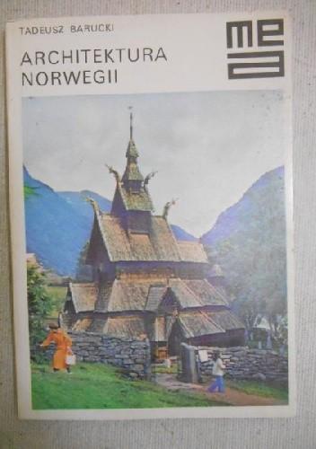 Okładka książki Architektura Norwegii