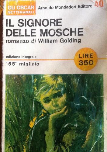 Okładka książki Il signore delle mosche