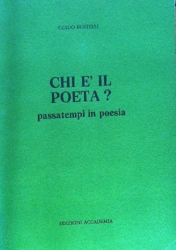 Okładka książki Chi è il poeta?