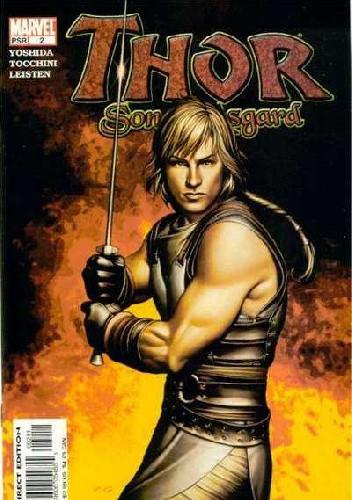 Okładka książki Thor: Son of Asgard #2