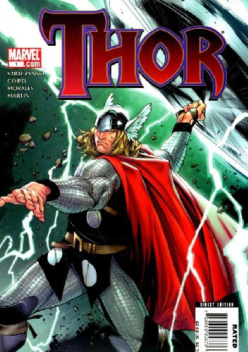 Okładka książki Thor #1