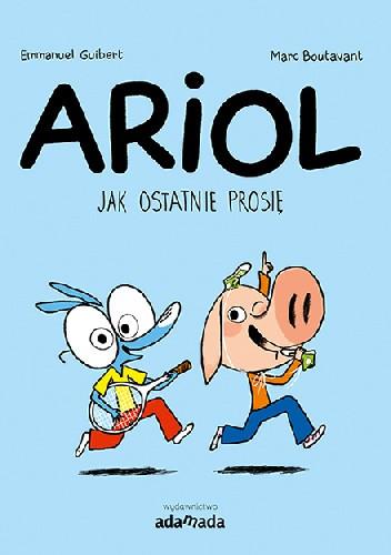 Okładka książki Ariol. Jak ostatnię prosię