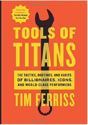 Okładka książki Tools of Titans
