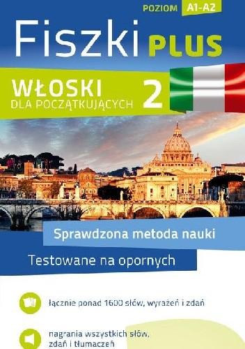 Okładka książki Włoski Fiszki PLUS dla początkujących 2
