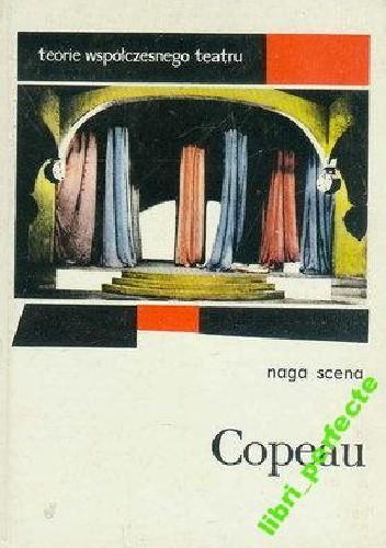 Okładka książki Naga scena