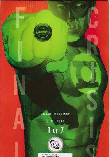 Okładka książki Final Crisis #1