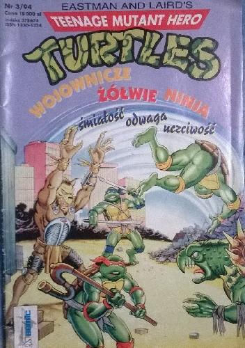 Okładka książki Teenage Mutant Hero Turtles 3/1994
