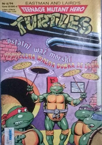 Okładka książki Teenage Mutant Hero Turtles 6/1994