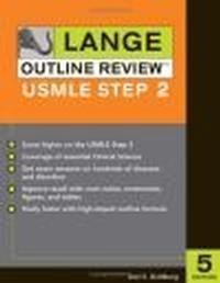 Okładka książki Lange outline review usmle step 2