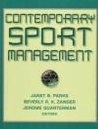 Okładka książki Contemporary Sport Management