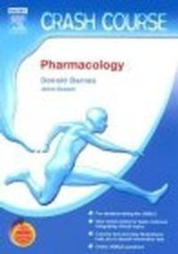 Okładka książki Crash Course Pharmacology with STUDENT CONSULT Access