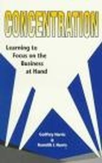 Okładka książki Concentration