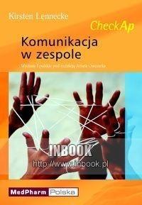 Okładka książki Komunikacja w zespole - KIrstenLennecke