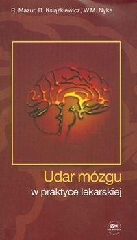 Okładka książki Udar mózgu w praktyce lekarskiej