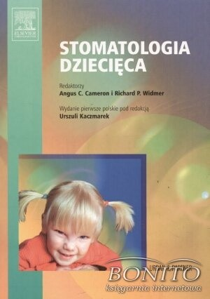 Okładka książki Stomatologia dziecięca