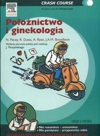Okładka książki Położnictwo i ginekologia Crash Course