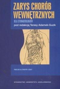 Okładka książki zarys chorób wewnętrznych dla stomatologów