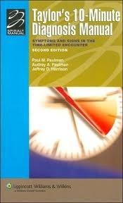 Okładka książki 10-minute Diagnosis Manual