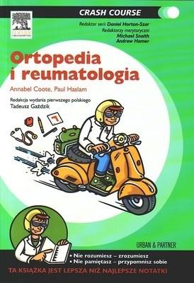 Okładka książki Ortopedia i reumatologia, Seria Crash Course
