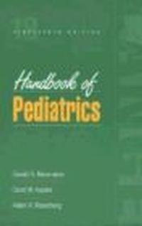 Okładka książki Handbook of Pediatrics 18e