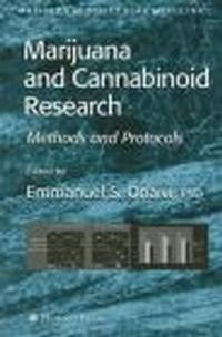 Okładka książki Marijuana & Cannabinoid Research