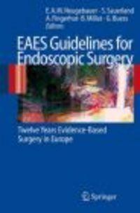 Okładka książki EAES Guidelines for Endoscopic Surgery