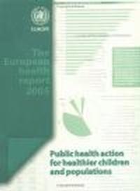 Okładka książki European Health Report 2005