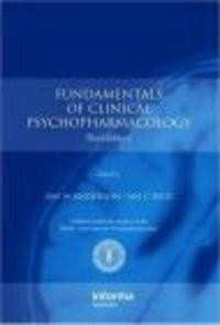 Okładka książki Fundamentals of Clinical Psychopharmacology 3e