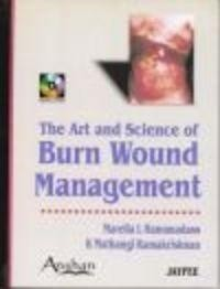 Okładka książki Art & Science of Burn Wound Management