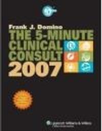 Okładka książki 5-minute Clinical Consult 2007