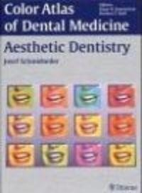 Okładka książki Color Atlas of Dental Medicine Aesthetic Dentistry