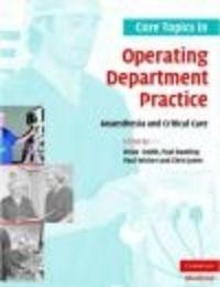 Okładka książki Core Topics in Operating Department Practice