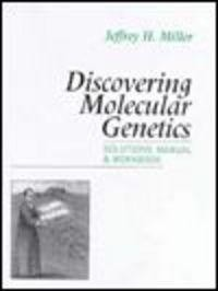 Okładka książki Discovering Molecular Genetics Solutions Manual && Workbook