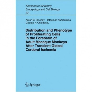 Okładka książki Distribution and Phenotype of Proliferating Cells in the Forebrain of Adult Macaque Monkeys after Transient Global Cerebral Ischemia