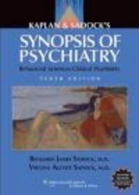 Okładka książki Kaplan and Sadock's Synopsis of Psychiatry
