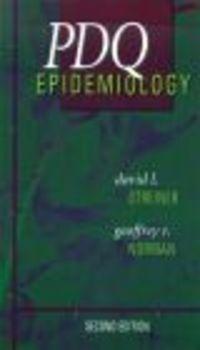 Okładka książki PDQ Epidemiology
