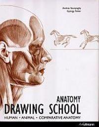 Okładka książki Anatomy Drawing School