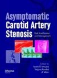 Okładka książki Asymptomatic Carotid Artery Stenosis