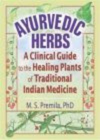 Okładka książki Ayurvedic Herbs